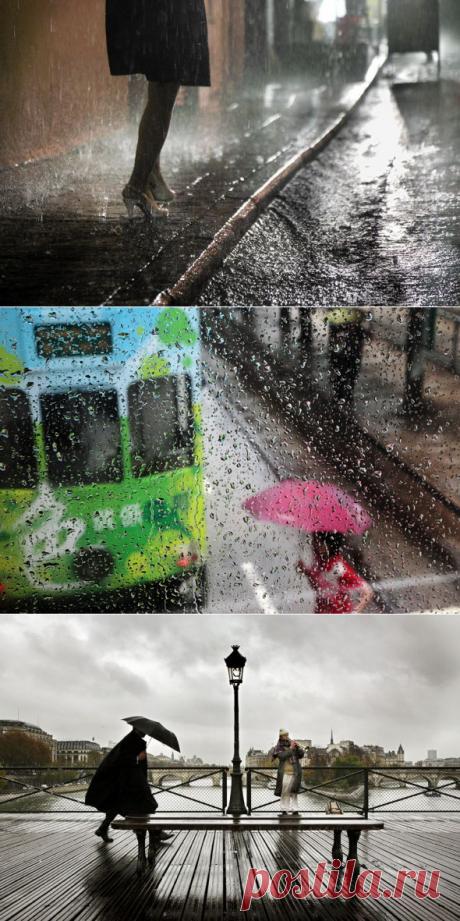 Фотографии дождя Кристофера Жакро | Cовременное искусство | contemporary art