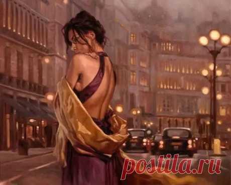 Художник Mark Spain. Прекрасная и одинокая - Искусство - медиаплатформа МирТесен