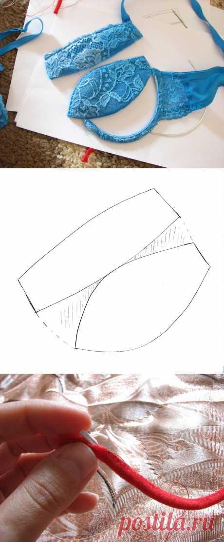 Лиф с чашками на косточках - Ярмарка Мастеров - ручная работа, handmade