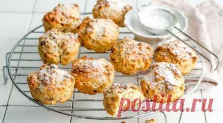 Простое постное печенье с изюмом — Вкусные рецепты