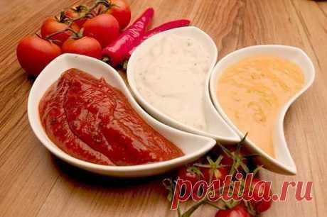 Такие разные соусы(10 вариантов разных соусов). - Простые рецепты Овкусе.ру