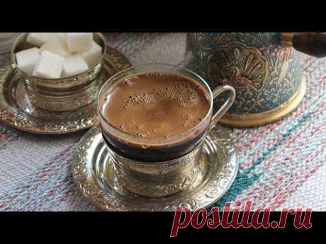 Кофе в турке с кориандром.
