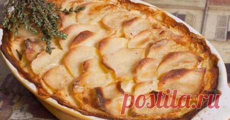 Как приготовить картофель «Дофинуа»: королевское блюдо, которое язык не повернется назвать гарниром!