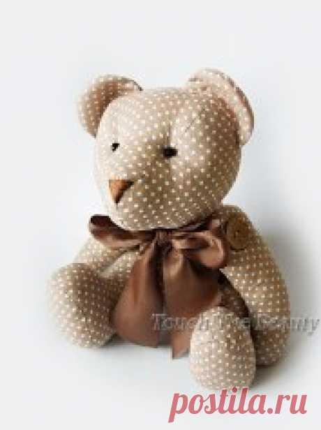 Мишки. Выкройки (Шьем игрушки) — Журнал Вдохновение Рукодельницы