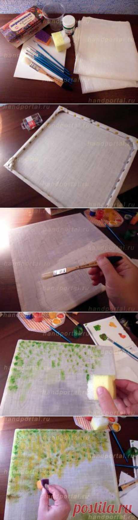 Как вышивать лентами картины? | Все, что сделано своими руками