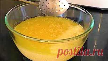 Секретик приготовления топленого масла без всяких заморочек. Топленое сливочное масло.