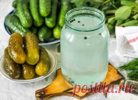 Рассол для огурцов – холодный и горячий способы: рецепты на зиму - Onwomen.ru