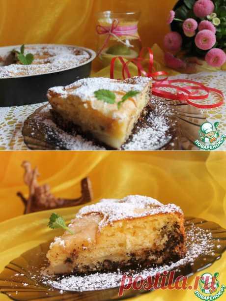Грушевый пирог по-итальянски. Автор: Esenija