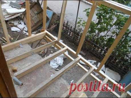 Ремонт отделка и расширение балкона сайдингом снаружи и внутри панелями ПВХ Отделка лоджии