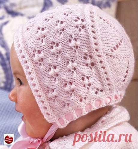 Вяжем шапочку для малыша