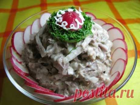 Говядина с маринованным лучком (закуска) : Закуски и бутерброды