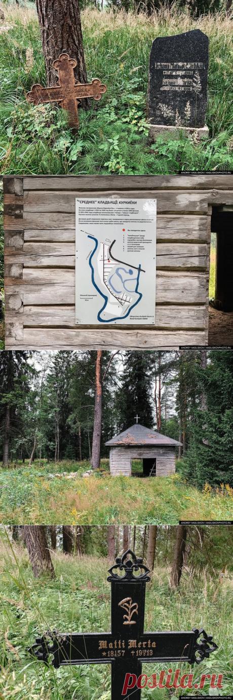 Заброшенное финское кладбище в лесах Карелии. Обычно за ним ухаживают финны, но пандемия внесла свои коррективы   Рекомендательная система Пульс Mail.ru