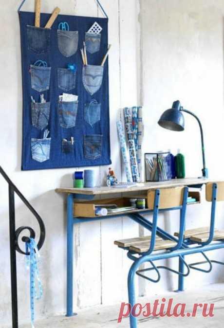 30 ideas creativas por el rehacimiento de la ropa vieja jeans - Layfhaker