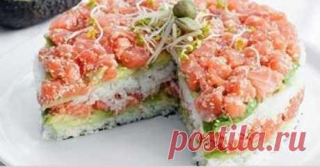 Салат, что обошел оливье и даже суши! Салат, что обошел оливье и даже суши!   Салат «Японские суши» Этот салат подходит для любого праздника. Интересен этот рецепт тем, что ингредиенты схожи с теми, которые нужны для приготовления суши, и…