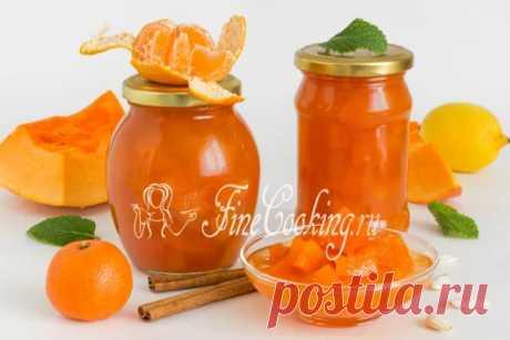 Варенье из тыквы Яркое, насыщенное, ароматное и очень вкусное тыквенное варе...