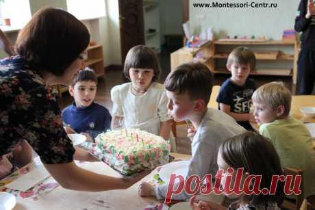 Детский садик в Москве по методу Монтессори.
