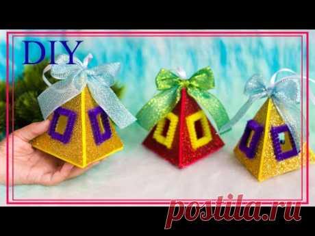 DIY Christmas ornaments | Самые ПРОСТЫЕ И КРАСИВЫЕ ИГРУШКИ из фоамирана