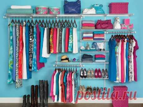 Наводим порядок в шкафу: 5 полезных советов — Полезные советы