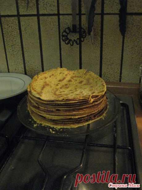 Медовик жаренный на сковородке (рецепт) - Рецепты для очень занятой мамы - Страна Мам