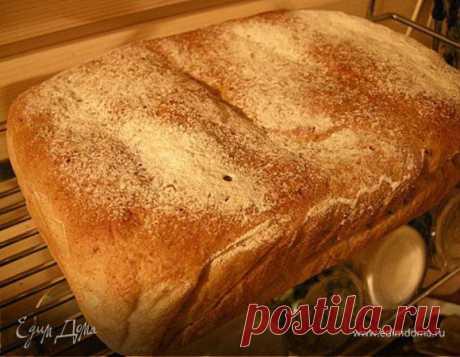Литовский заварной хлеб. Ингредиенты: мука, тмин, лен семена