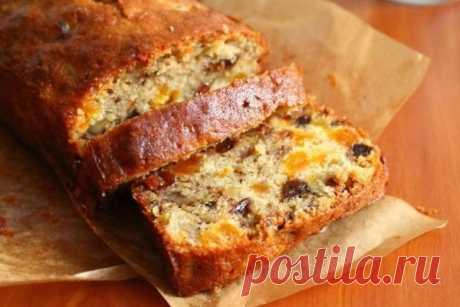 Кекс с сухофруктами Предлагаем рецепт быстрого, бюджетного и очень вкусного кекса.
