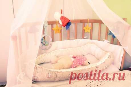 Гнездышко для новорожденного своими руками - Рукоделие - Babyblog.ru