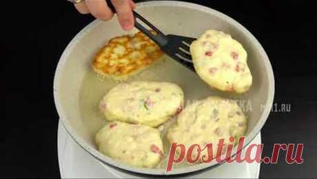 ¡Los buñuelos en el estilo la PIZZA la Gollería! Es extraordinario vkusnyi ̆, aromatnyi ̆ y pitatelnyi ̆ el DESAYUNO