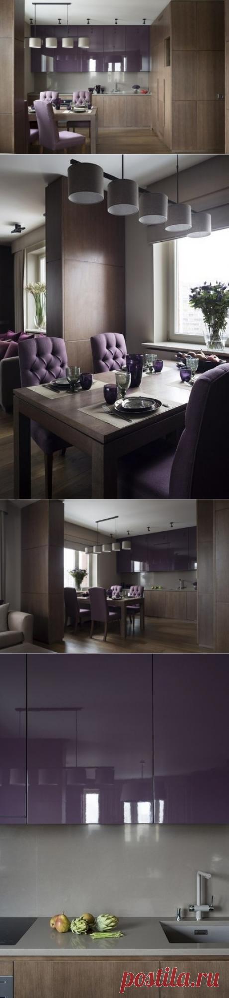 Спокойная и красивая кухня - Дизайн интерьеров   Идеи вашего дома   Lodgers