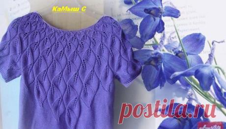 Пуловер спицами. 4 модели - svjazat.ru