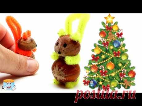 Две потрясающие идеи для елочных игрушек которые можно съесть