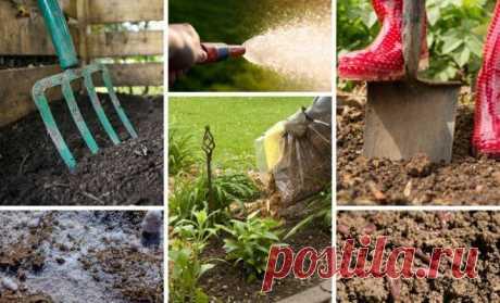 Как подготовить почву осенью к весенним посадкам, 10 способов оздоровления и восстановления