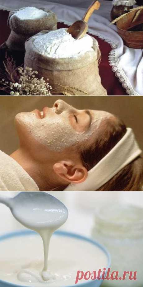(+1) тема - Лучшие рецепты масок из муки для лица | ВСЕГДА В ФОРМЕ!
