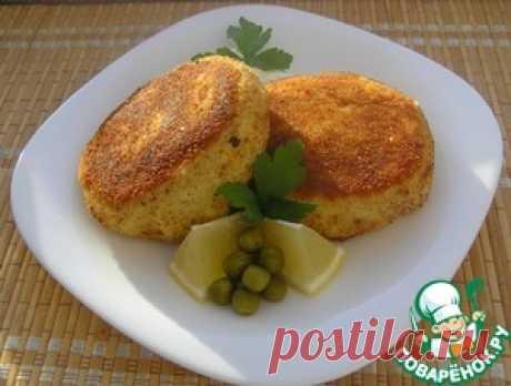Сырно-картофельные биточки с начинкой - кулинарный рецепт
