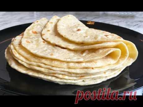 Самые Простые Лепешки / Easy Flatbread / Лепешки на Сковороде / Простое Тесто / Простой Рецепт