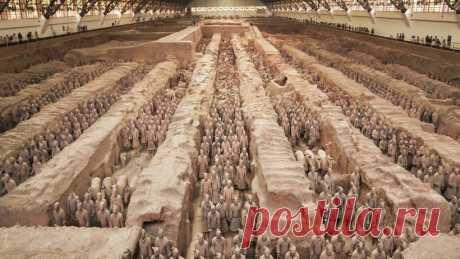 Новые находки: 8 удивительных фактов о терракотовой армии китайского императора