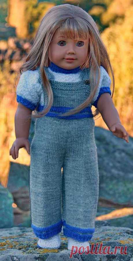 вязание одежды для кукол