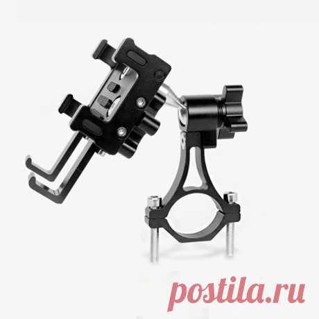 Universal bike phone holder 65-100mm width adjustable phone mount 360° rotation phone stand for cycling Sale - Banggood.com