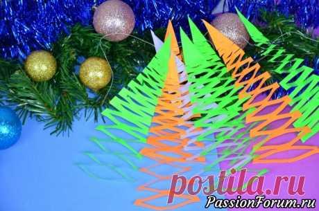 Красивые и лёгкие идеи для украшения комнаты на к празднику - запись пользователя Laksi (Юлия) в сообществе Новый год в категории Новогодний декор