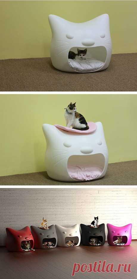 Большой Мяу! - домик для кошки