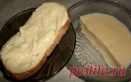 """Плавленный сыр """"домашний""""."""