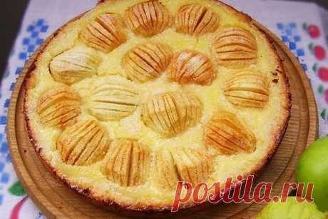 Как приготовить яблочный пирог обалденный - рецепт, ингредиенты и фотографии