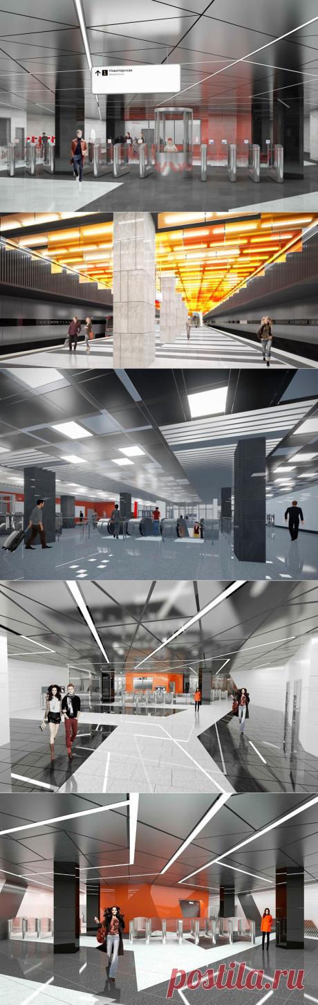 2021-На станции «Новаторская» БКЛ метро начался монтаж подвесного потолка — Комплекс градостроительной политики и строительства города Москвы