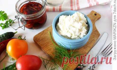 Домашний сливочный сыр. Пошаговый рецепт с фото