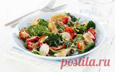 Овощные салаты (подборка) - полезные, вкусные и сытные