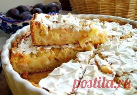 Изумительно вкусный яблочный пирог, ну просто тает во рту. Он обязательно вам понравится! Ингредиенты: мука – 2 стакана. яблоко – 1 кг. сливочное масло – 150 гр. сметана – 0,5 ст. сода – 1/2 ч.л. уксус – 1 ч.л. сахар –...