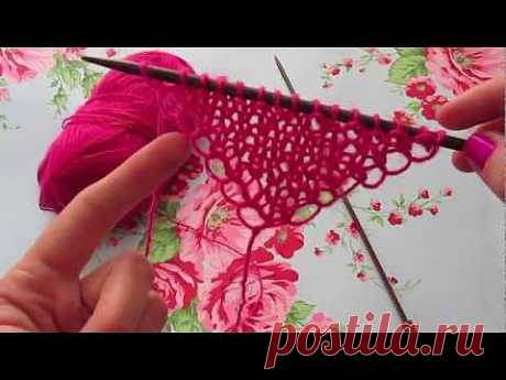 ▶ Easiest Shawl Pattern. Ever. - YouTube