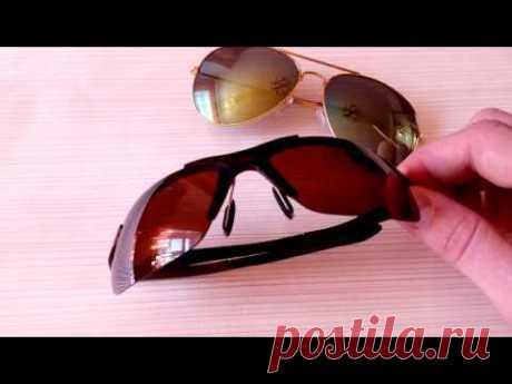 Солнцезащитные очки из Китая. Качественные очки с алиэкспресс - YouTube