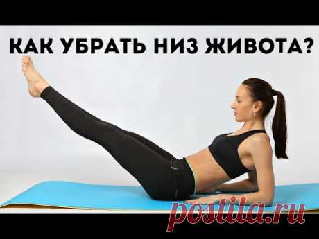How quickly to clean a bottom of a stomach of II I grow thin with Ekaterina Kononova
