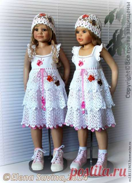 Ручная Тины: Дети платья