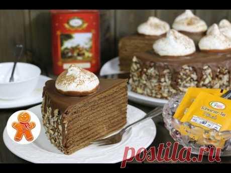 """Торт """"Медовый Трюфель"""" ✧ Honey Truffle Cake (English Subtitles)"""